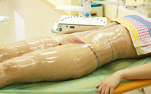 Body wrap with film